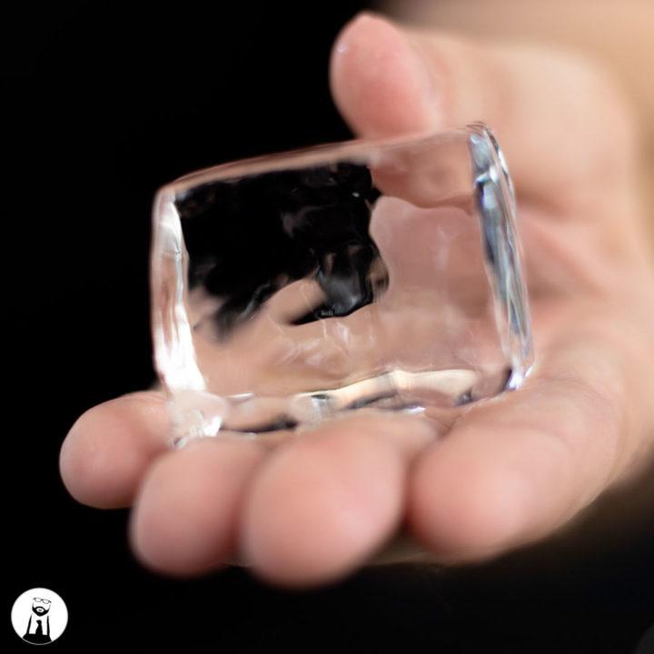 Clear Ice - Black Tie Kitchen