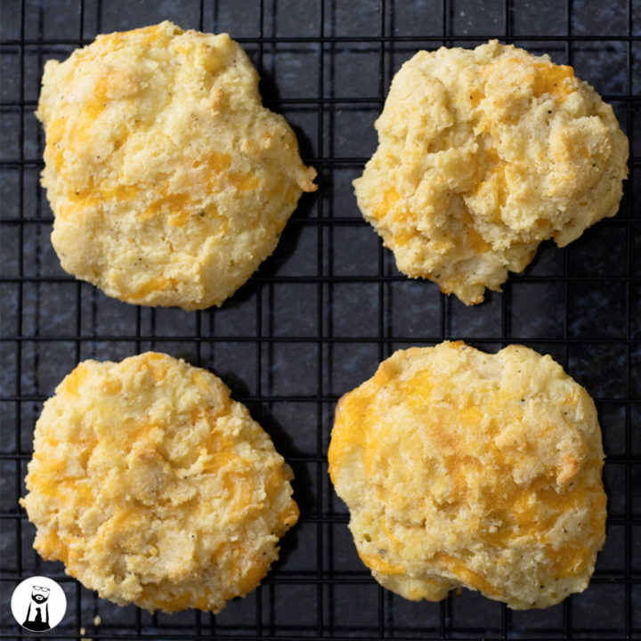 Keto Cheddar Bay Biscuit - Black Tie Kitchen