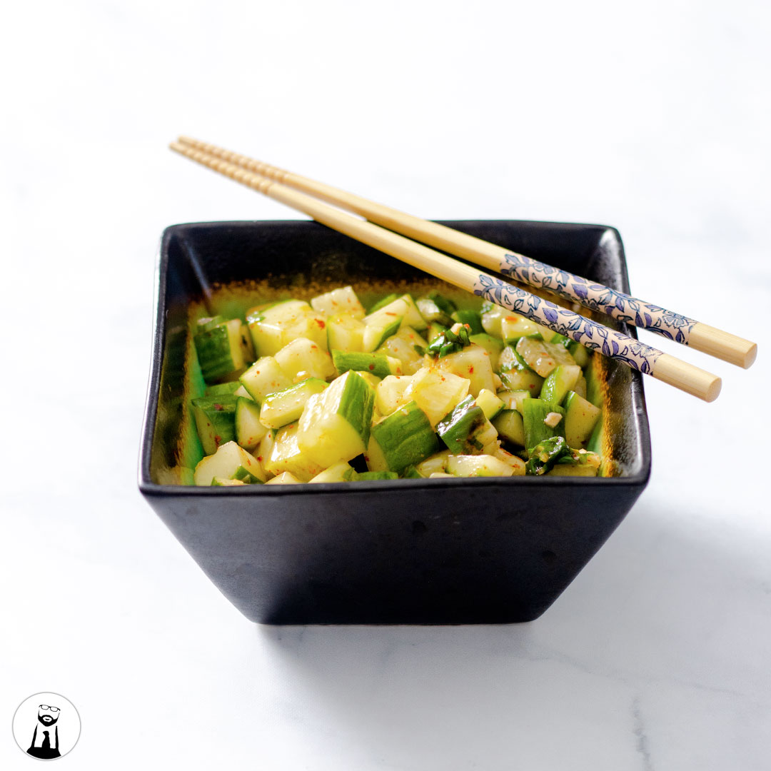 Read more about the article Cucumber Kimchi Salad