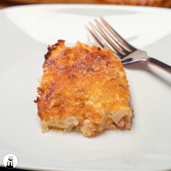 Cauliflower Mac n Cheese - Black Tie Kitchen