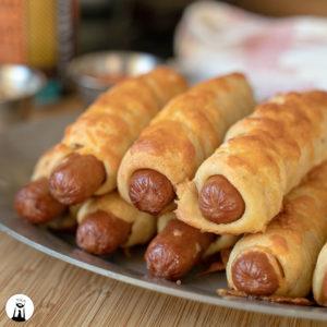 Keto Bagel Dogs
