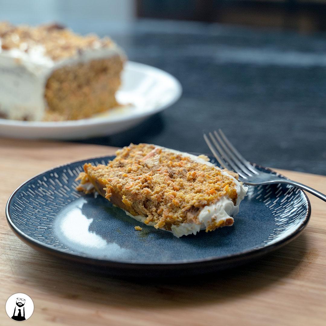 Carrot Cake, Low-Carb/Keto/Gluten-free