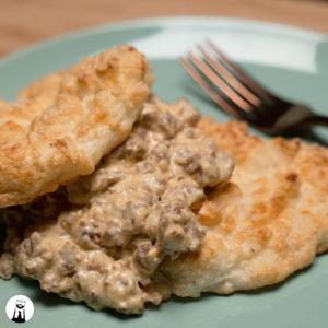 Keto Biscuits & Gravy