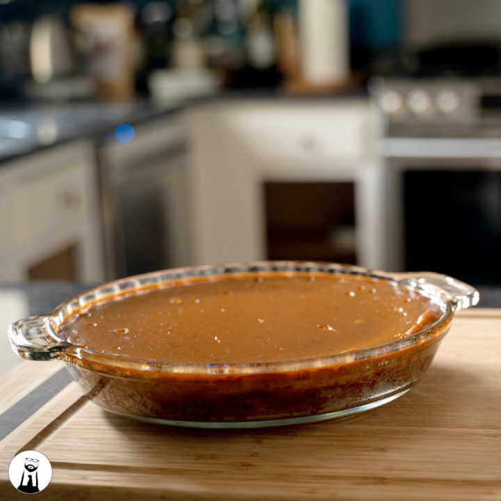 Keto Pumpkin Pie - Black Tie Kitchen