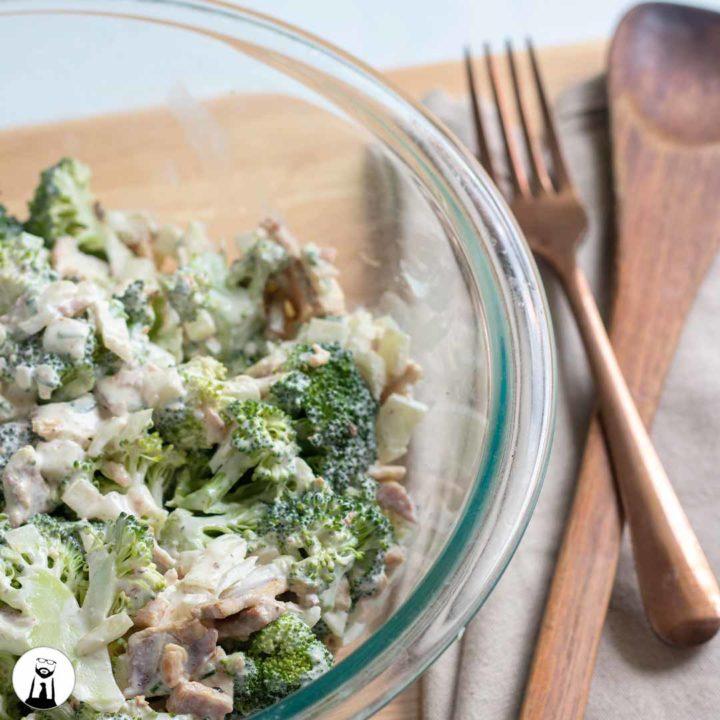 Broccoli Salad - Black Tie Kitchen