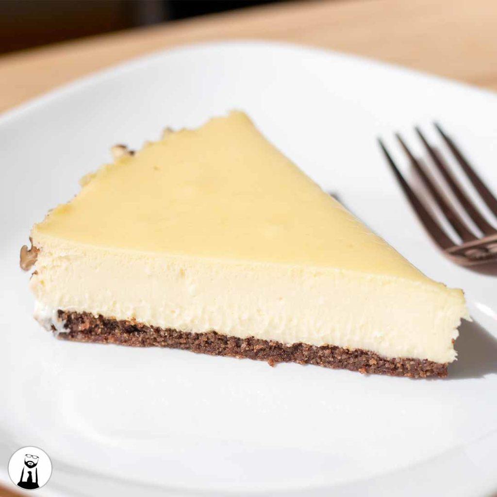 Plain Keto Cheesecake