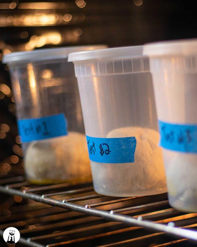 Proofing Keto Pizza Dough - Black Tie Kitchen