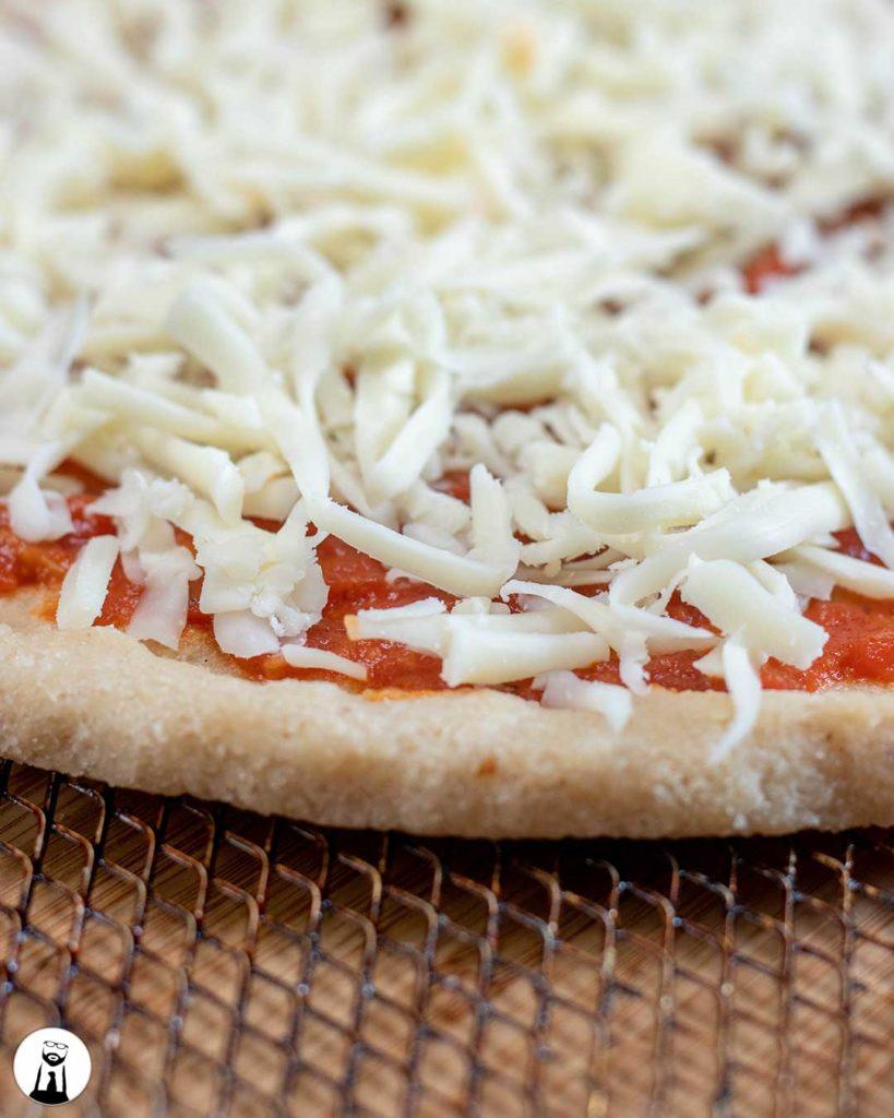 Raw Keto Pizza Dough - Black Tie Kitchen