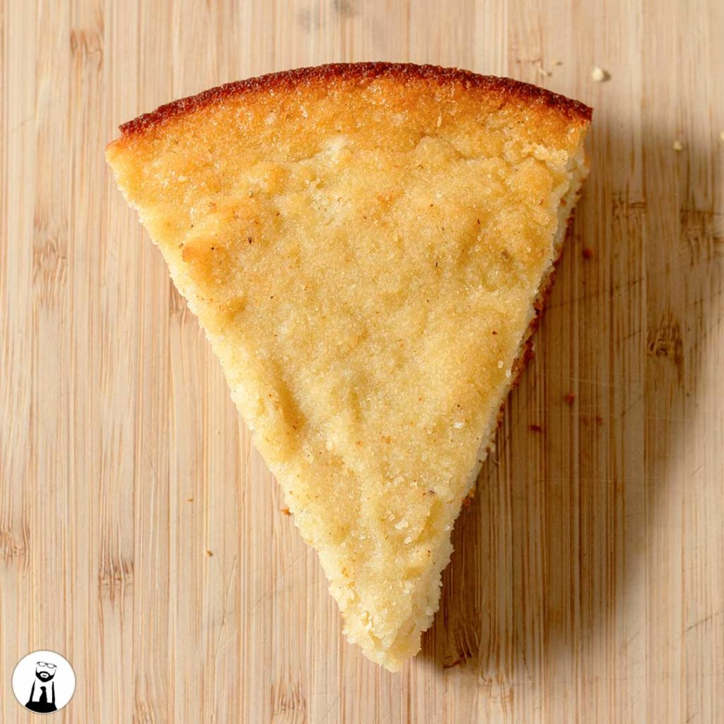 Slice o' Cornbread (Low-Carb, Keto, Gluten-Free) - Black Tie Kitchen