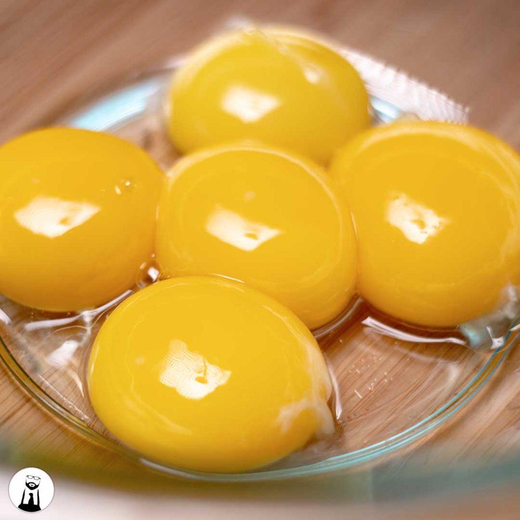 Eggs in a Bowl - Black Tie Kitchen