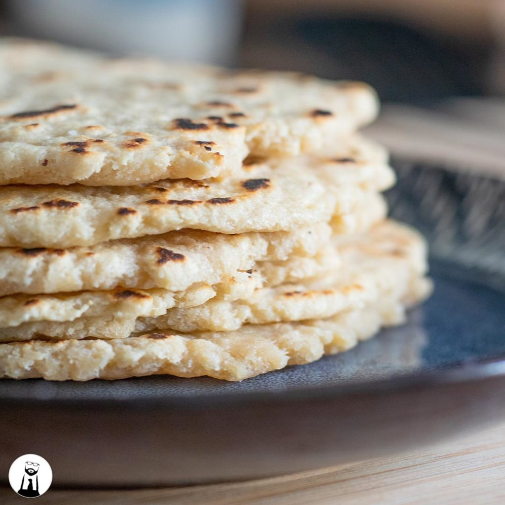 Low Carb / Keto Tortillas - Black Tie Kitchen