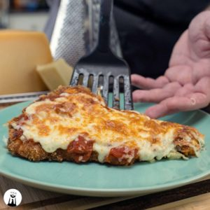 Chicken Parmesan (Low-Carb, Keto, Gluten-Free)